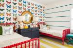 Kupu-kupu Cantik di dinding lakukan sendiri: hiasan 140+ (Photo) di pedalaman (kertas, volumetrik, pelekat)