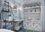 Lusuh bergaya di pedalaman: Bagaimana untuk menghias apartmen dengan gaya shebbi-chic? 210+ (foto) untuk bilik tidur, dapur, ruang tamu