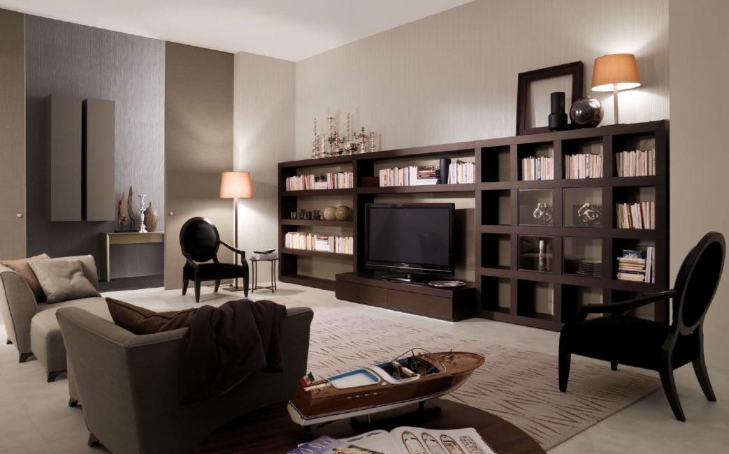 Ruang tamu gaya klasik