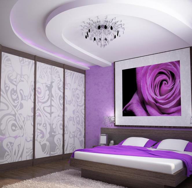 Duet yang mirip dengan ungu dan putih