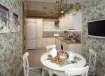 주방의 TV - 실용적이고 세련된 원본 (135+ 사진). 최고의 숙박 시설