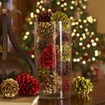 Kraf dari kerucut cemara (besar, dicat) untuk Tahun Baru (175+ Foto) Mainan yang indah untuk percutian!