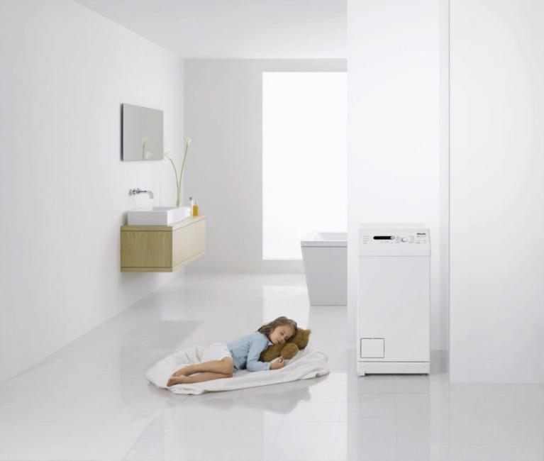 Mesin basuh sempurna apabila tidak banyak ruang