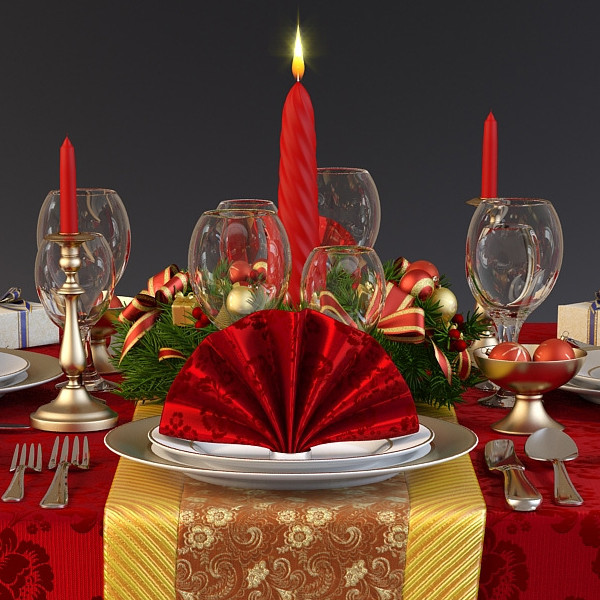 식탁보 - 각 테이블의 속성