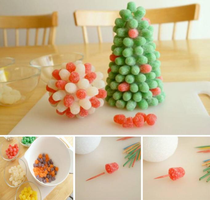 Albero di Natale dolce marmellata