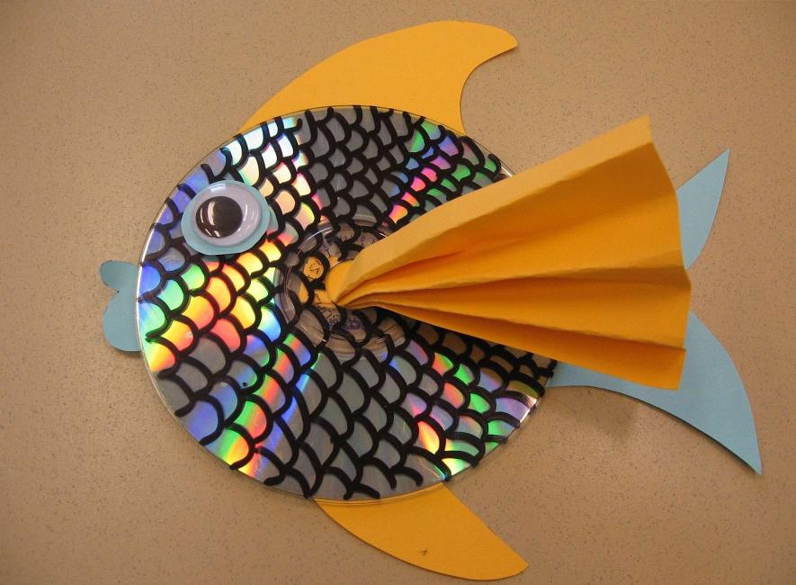 Ikan yang cantik, yang boleh dilakukan tanpa kesukaran