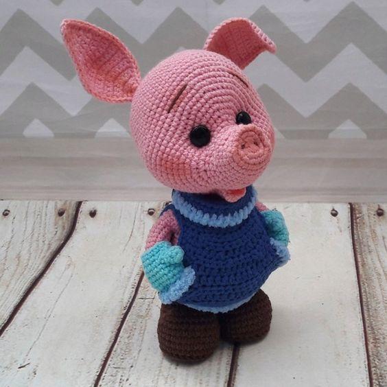 약간의 상상력과 당신은 그런 아름다운 돼지를 얻습니다.