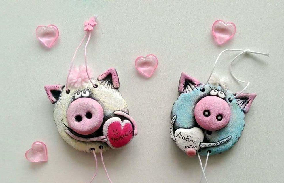 재미있는 돼지는 너 자신을 해.