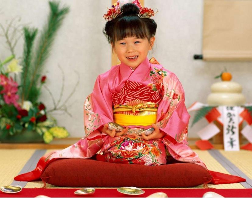 Pakaian yang akan membawa anda ke Tahun Baru Jepun