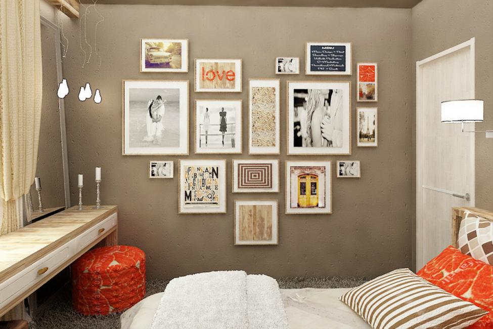 Peintures modulaires pour dormir