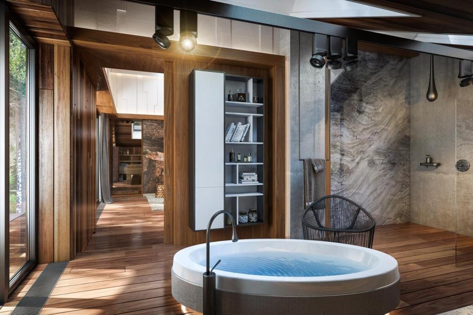 Jacuzzi à l'intérieur - luxe abordable avec avantages pour la santé