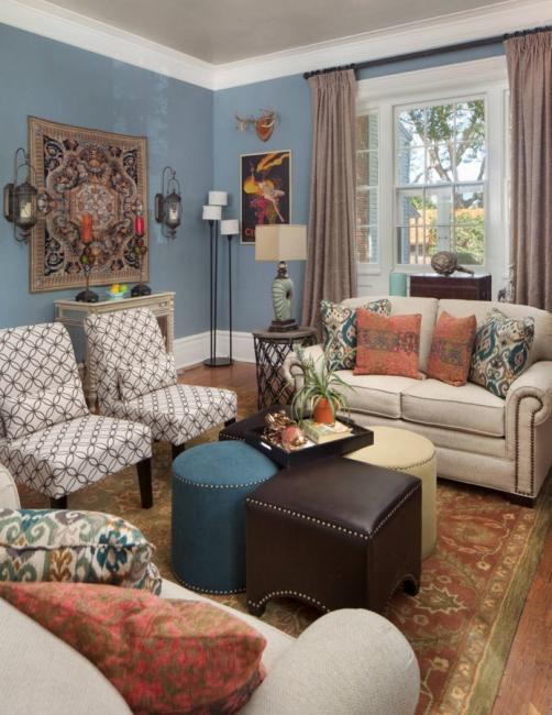 Les tapisseries fines sont transmises de génération en génération.