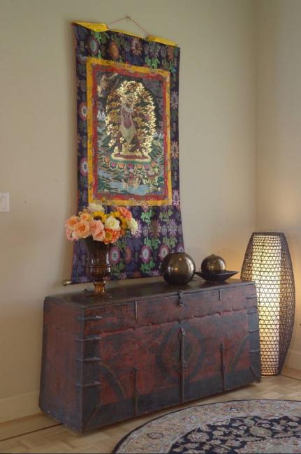 Fil d'or souvent utilisé, matières premières en soie, teint avec des teintures naturelles