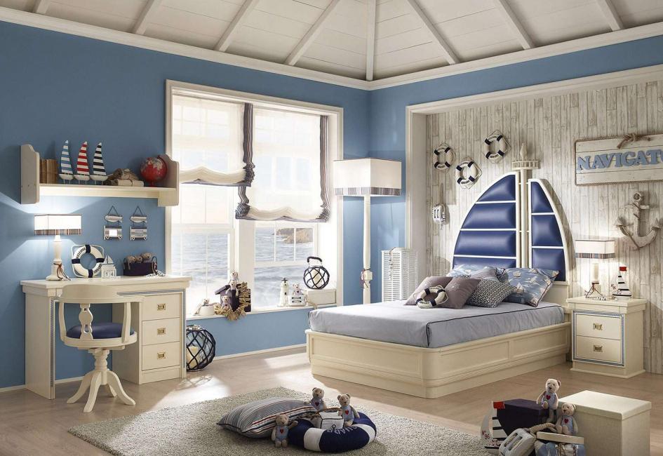 محايد في تصميم الغرفة للأطفال
