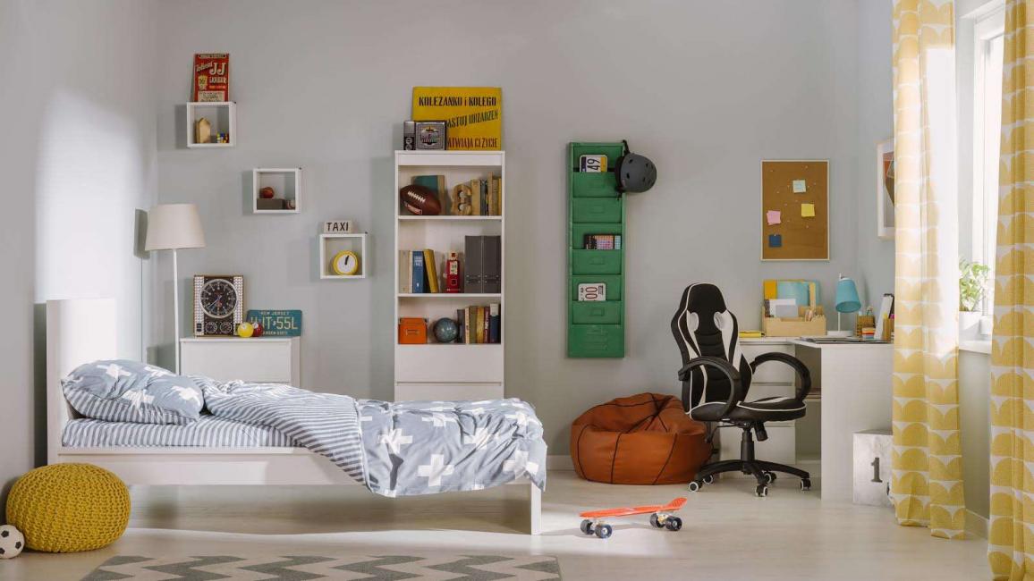 امنح طفلك حرية تصميم غرفته.