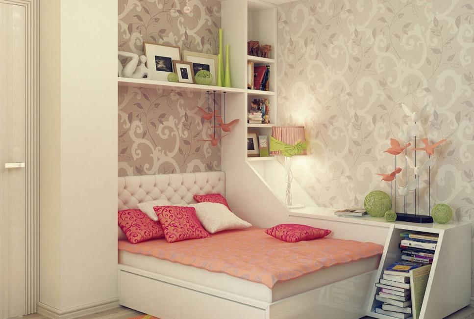 مربع السرير للكتب