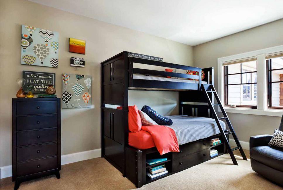 غرفة الأطفال لصبيين