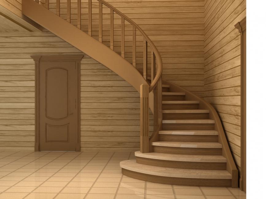 Важно е стълбите да бъдат хармонично съчетани с декора и мебелите в стаята.