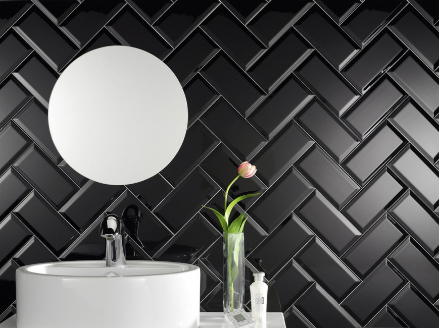 Noir a toujours l'air spectaculaire dans n'importe quelle pièce.