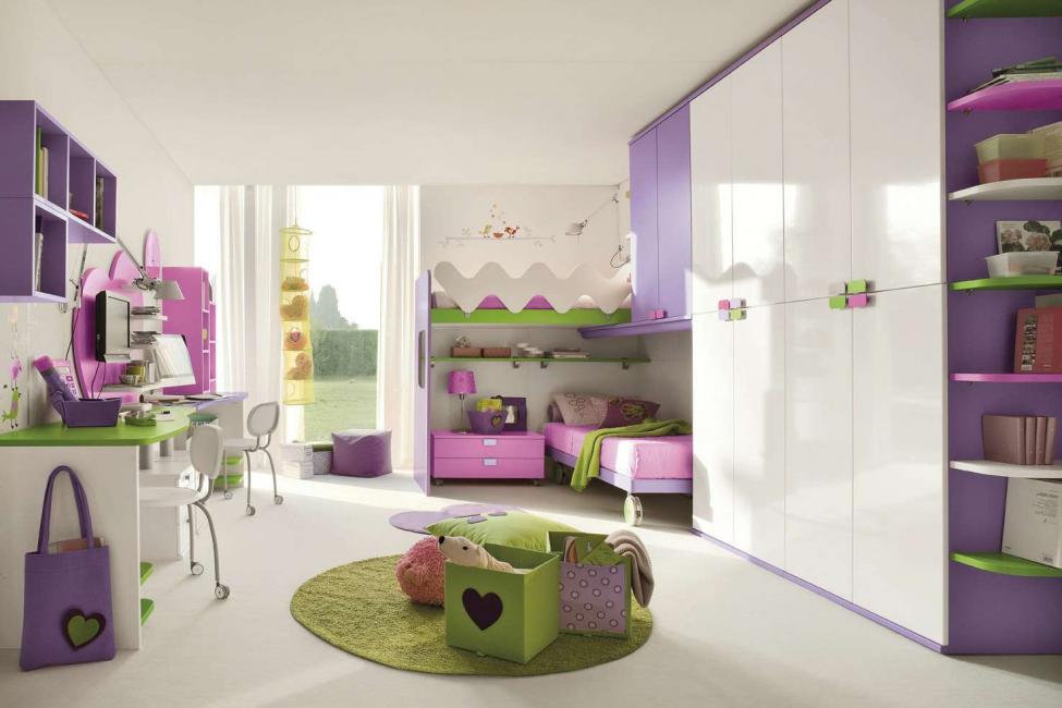 سجادة ملونة على الأرض - لهجة مشرقة لأي غرفة