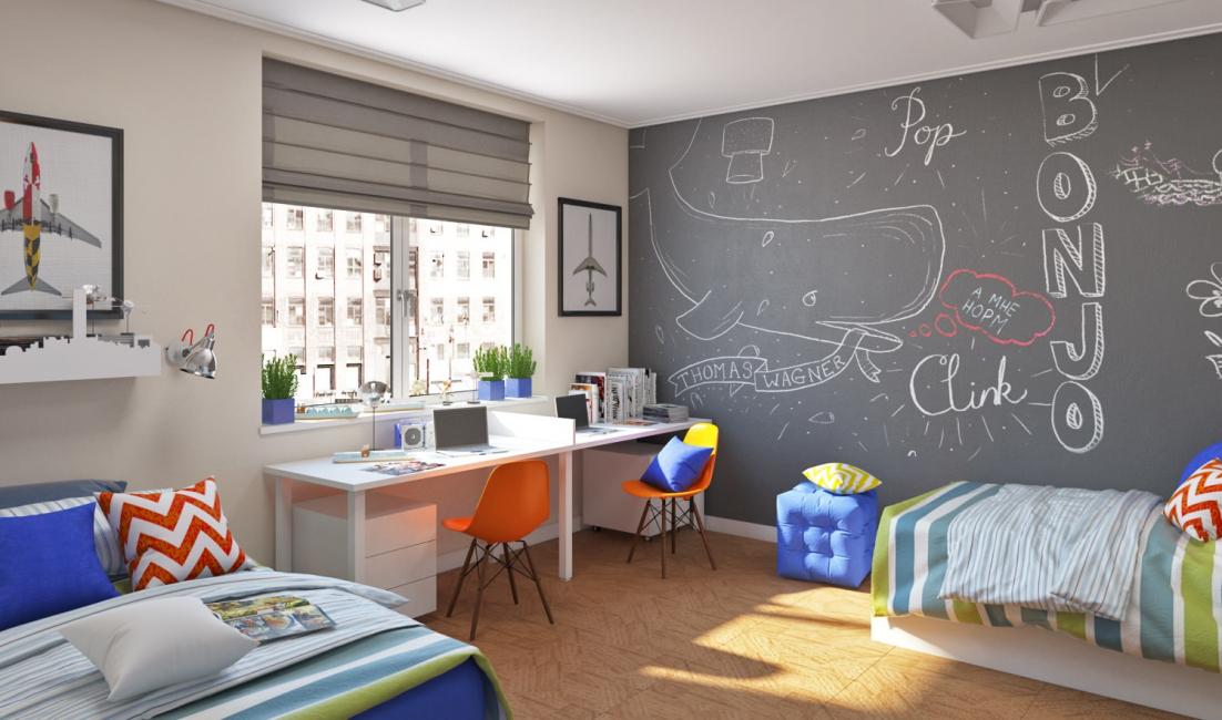 يمكن أن تتفكك غرفة الأطفال البيضاء مع الطفل.