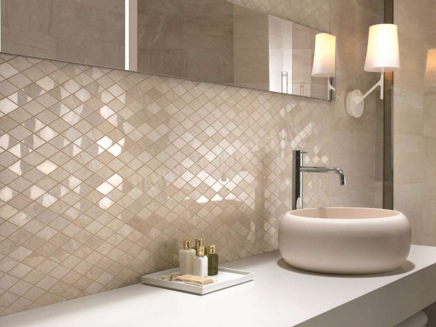 Due to the presence of many shades using the mosaic you can create almost any patterns.
