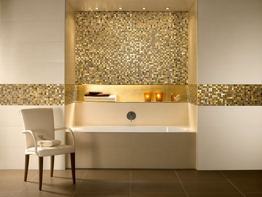 The main qualities of mosaic surfaces are aesthetics and practicality.