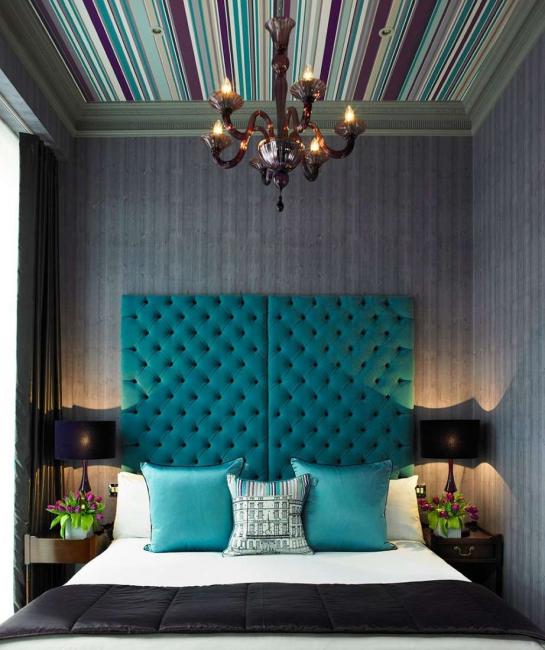 Απόκρυψη ελαττωμάτων δωματίου με λαμπρές προφορές