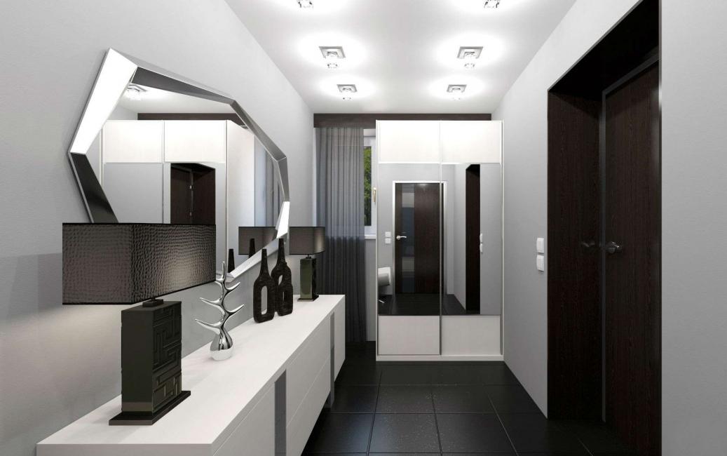 235 + 어두운 색상의 디자인 사진 : 어둡거나 아늑한가? 세련되고 세련된 인테리어 (침실, 거실, 주방, 욕실)