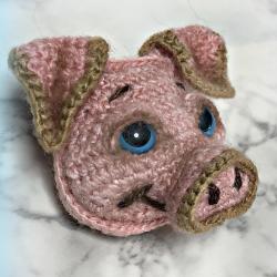 노란 돼지의 2019 년을위한 본래 기술 (65+ 사진). 다양한 기술 (펠트, 마카로니, 소금 반죽에서) + 리뷰 6 개의 놀라운 DIY 워크샵