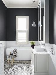 Beyaz çini - Muhteşem bir tasarım yaratma.300+ (fotoğraf) İç tasarım