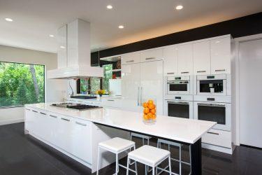 Jubin putih - Mewujudkan reka bentuk yang hebat.300+ (foto) Kemasan dalaman