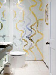 Beyaz çini - Muhteşem bir tasarım yaratma. 300+ (fotoğraf) İç tasarım