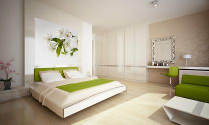 Σχεδιασμός υπνοδωματίου σε μοντέρνο στυλ (125+ φωτογραφίες) - Λευκές κουρτίνες / ταπετσαρίες / ντουλάπα. Πώς να μην το παρακάνετε με μια επιλογή;