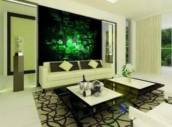 İç dekoratif duvarlar (220+ Fotoğraf): Alçı, Duvar Kağıdı, Boyama