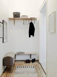 현대 디자인 아파트 복도와 자신의 손으로 개인 주택.창, 사다리 및 기타 디자인 옵션이있는 175 개 이상의 사진 아이디어