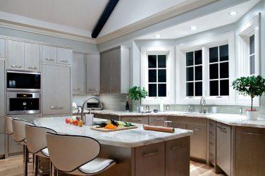 Incredible Bay Windows di Dapur - Seni Reka Bentuk (115+ Gambar-gambar di Interiors)