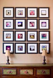 Duvardaki resimlerin asılması güzel ve orijinal (170+ Fotoğraf)? Parlak vurgular için yaratıcı fikirler