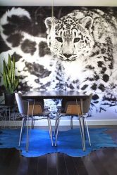 Papier peint photo au mur dans le salon, la chambre à coucher, la cuisine et l'enfant: 205+ Photo Intérieurs attrayants