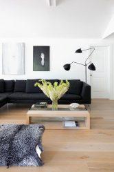 Oturma odasının beyaz kar renginde tasarımı - seçkin şaheserler yaratır.135+ İç mekandaki gerçek stil çözümlerinin fotoğrafları