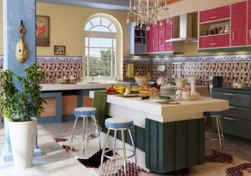 Gaya Itali moden (230+ Foto): Dikemaskini mewah abadi (dapur, ruang tamu, reka bentuk bilik tidur)