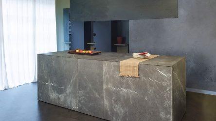 Pietra decorativa in cucina - 130 opzioni di design per bellissimi disegni