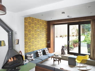 Tasarımın ifadesi için, duvar kağıtlarını birleştiriyoruz: 135+ (Fotoğraf) Yatak odası, oturma odası, çocuk odası