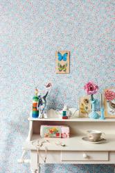Untuk ekspresi reka bentuk, kami menggabungkan wallpaper: 135+ (Foto) Bahagian dalaman bilik tidur, ruang tamu, tapak semaian