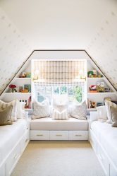 Reka bentuk rumah dengan loteng (170+ Foto) - Pilihan hiasan dalaman bilik