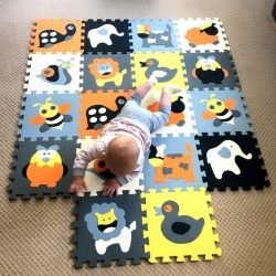Rugs, teka-teki untuk kanak-kanak - Lantai lembut: membangun dengan keselesaan (145+ Foto)