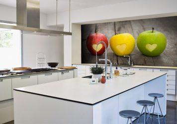 Mutfak için MDF panelleri - 250+ (Fotoğraf) Kaplama seçenekleri