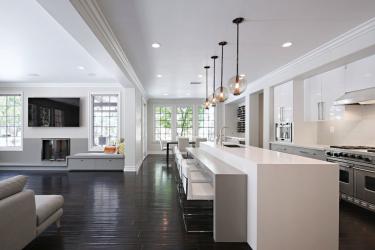 Pencahayaan yang betul di dapur: Pilihan moden untuk reka bentuk yang selesa (155+ Foto)