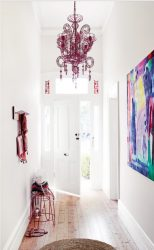Pilihan dalaman di Lorong: 225+ Rekaan Foto (batu / lamina / jubin / lukisan). Warna dinding mana yang lebih baik?
