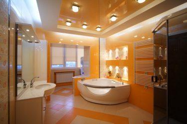 Bagaimana untuk membuat siling panel plastik? 250+ (Foto) Reka bentuk sendiri (di bilik mandi / dapur / lorong)